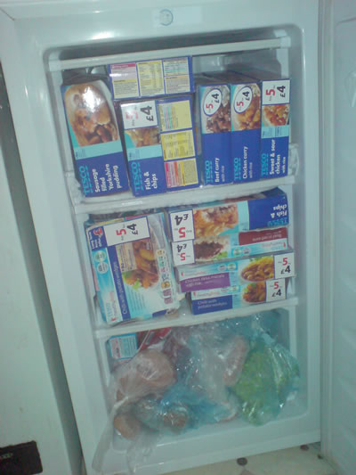 Freezer at Burchett Place