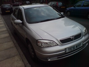 2001 1.6 Astra
