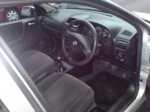 2001 1.6 Astra interior