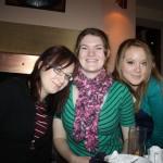 Sarann, Nicola and Kate