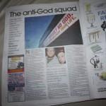 iThe anti-God squad