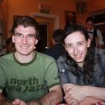 Kieran and Chris