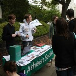 Atheist Society stall