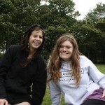 Katie and Nicola