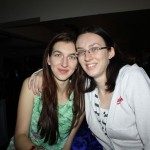 Nicola and her sister Kerry