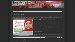 English Defence League website