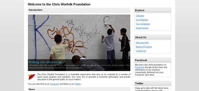 CWF website