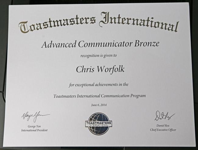 Advanced-Communicator-Bronze