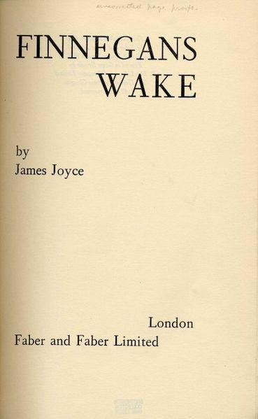 Finnegans-Wake
