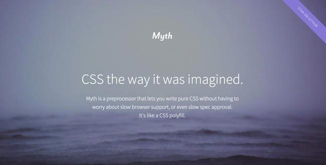 myth-css-preprocessor