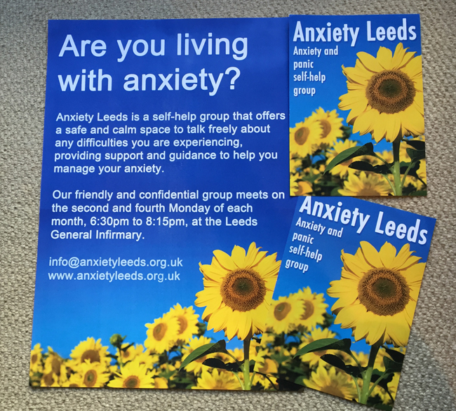 Anxiety Leeds promo material