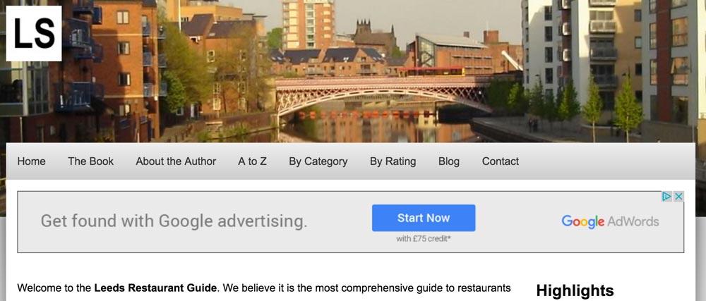 restaurant-guide-website