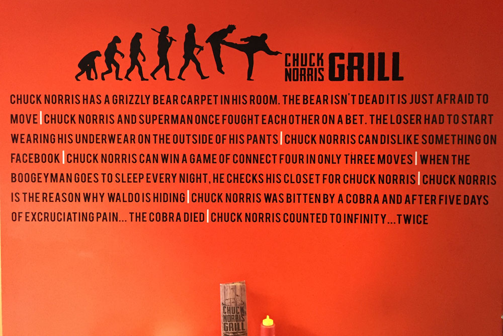 chuck-norris-grill-wall