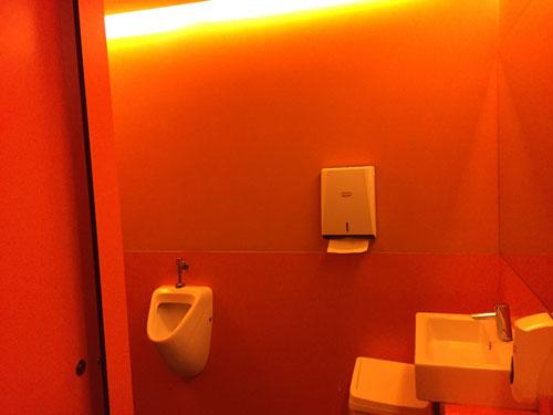 red-bathroom