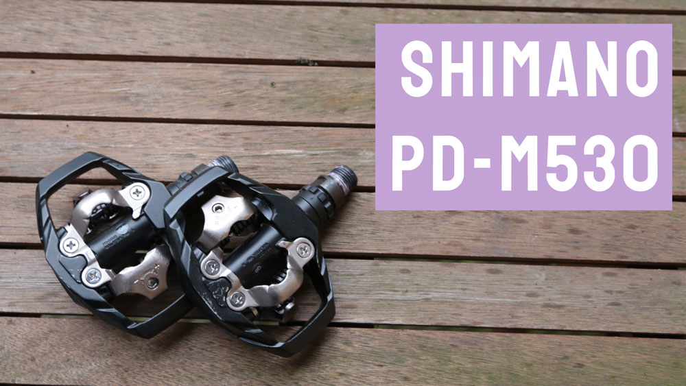 f724ab08e The Shimano PD-M530 is a dual-sided SPD bike pedal. SPD is Shimano s two-point  mountain bike cleat but is also a favourite for commuting or those who are  ...